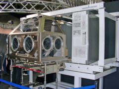 ISSの生物実験用モジュール