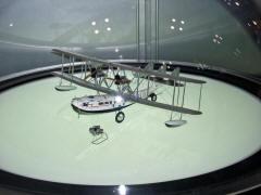 飛行艇サザンプトンの模型