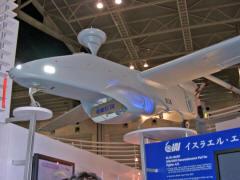 イスラエル製の無人偵察機