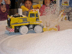 除雪車のラジコン